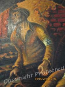 Jewish revolt, Warsaw, Poland-detail 1