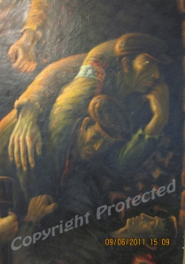 Jewish revolt, Warsaw, Poland-detail 2
