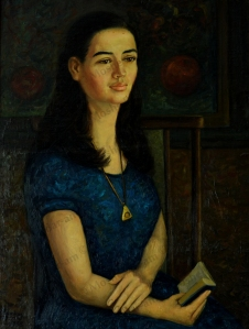 No. 15  Portrait of Painter's Daughter-copyright