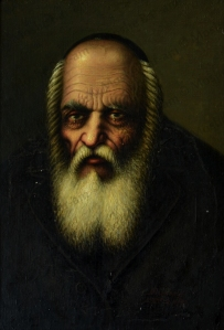 No. 16  Portrait of Rabbi Crying -copyright
