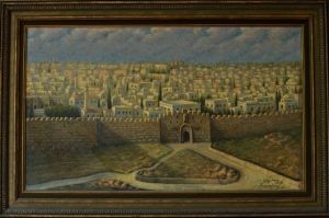 No. 36  Landscape Jerusalem-copyright
