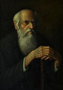 No. 5  Portrait of Rabbi with Cane-copyright