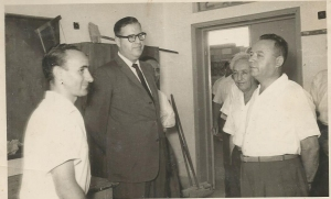 Exhibition opening 1973