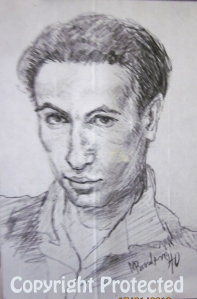 Artist's self portrait, 1940