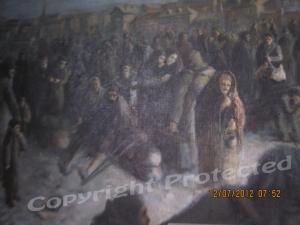 Concentration square, Poland 1940-detail 1