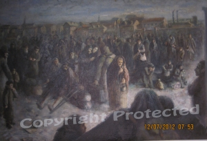 Concentration square, Poland 1940