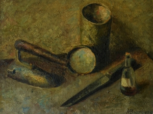 No. 26  Still Life Iron -copyright