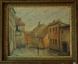 No. 58  Landscape Alleyway in Łódź-copyright